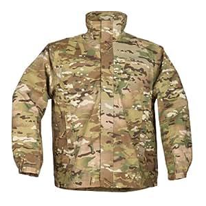 5.11 Men's Tactial Dry Rain Shell Jacket, Multicam, Large