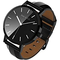 June & Ed Quartz Stainless Steel Men's Watch