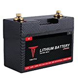 Clearance sale-Tattu LiFePO4 12V 8.6A Motorsport Street Bike Replacement Lithium Iron Phosphate Starting Battery for Power Sports Motorcycles Racing Lawn Mowers Scooters Utility Vehicles and Dirt Bike