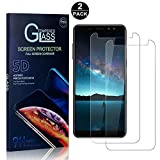 Galaxy A8 2018 Screen Protector, Bear Village® Tempered Glass Screen Protector [Lifetime Warranty], HD Screen Protector Glass for Samsung Galaxy A8 2018-2 PACK