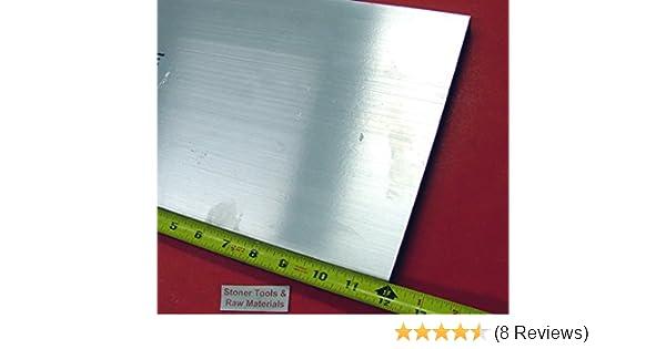 "2 Pieces 1//4/"" X 3-1//2/"" ALUMINUM 6061 Bar 11/"" long T6511 Extruded Mill Stock"