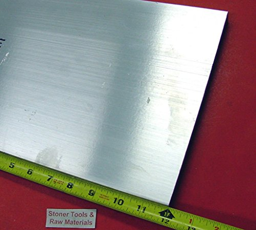 1/2″ X 8″ X 12″ ALUMINUM 6061 FLAT BAR SOLID T6511 New Mill Stock Plate .50″