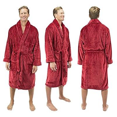 Comfy Robes Men's Tahoe Microfleece Shawl Collar Bathrobe
