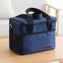 EDTara Waterproof Oxford Extra Large Cooler Cool Bag Box Ice Cans Bags for Picnic Camping Food Drink Lunch Festival Shopping Outing Car Fishing Hiking