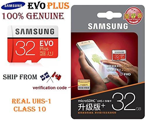 Samsung Evo Plus 32gb Microsd Hc Class 10 Uhs 1 80mbs Mobile Memory Card 32g Mb Mc32d