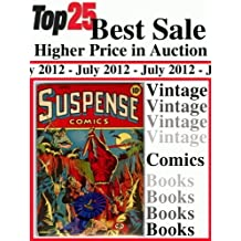 Top25 Best Sale Higher Price in Auction - Vintage Comics Books