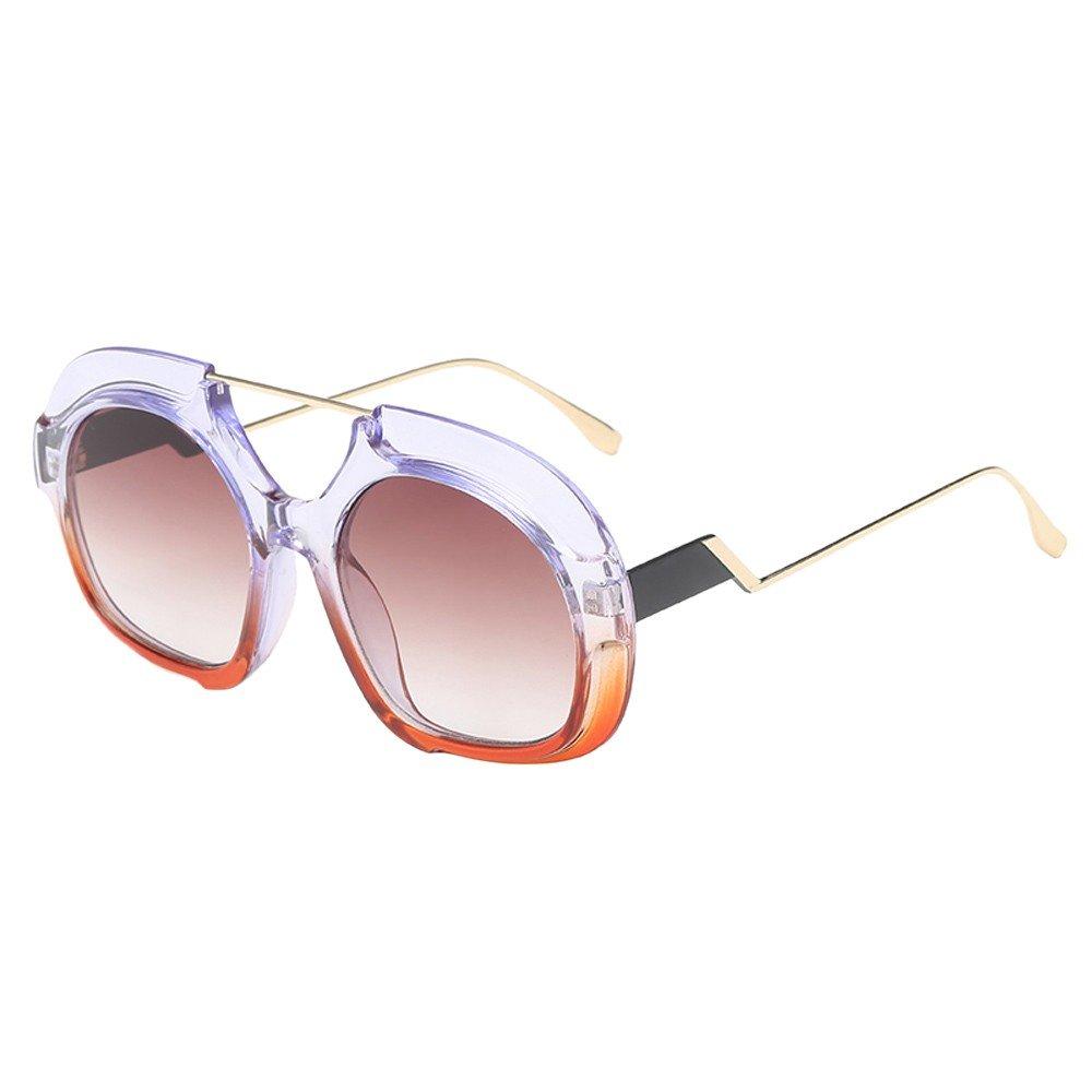 Molyveva Polarized Sunglasses Polarized Cool Aviator Style Featuring Flash Mirror Lens