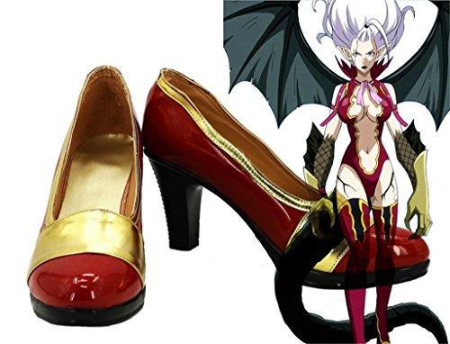 Bromeo Fairy Tail Mirajane Strauss Cosplay Schuhe