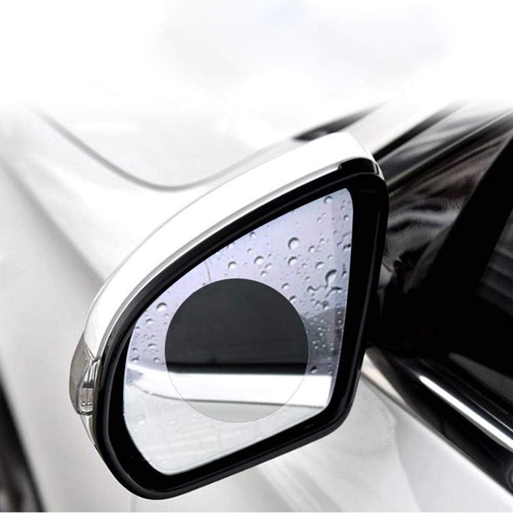 Vosarea Auto wasserdichte Anti-Fog-Folie Schutzfolie Anti-Glare-Regen-Proof Anti-Scratch-Nebel-Membran f/ür Auto-R/ückspiegel Seitenansicht Spiegel