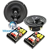 HD-62Braxial - CDT Audio 6.5 180W RMS 2-Way Braxial Component Speakers System