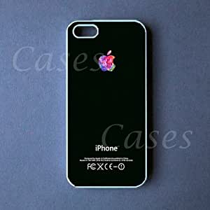 COLORFUL IPHONE5CASE APPLE LOGO Iphone 5 Cover UNIQUE AWESOME Cute BEST COOLEST wangjiang maoyi