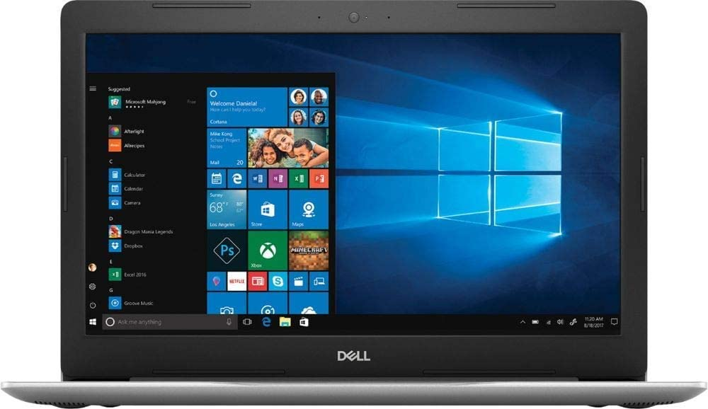 "Dell - Inspiron 15.6"" Touch-Screen Laptop - AMD Ryzen 5 - 8GB Memory - 1TB Hard Drive - Platinum Silver"