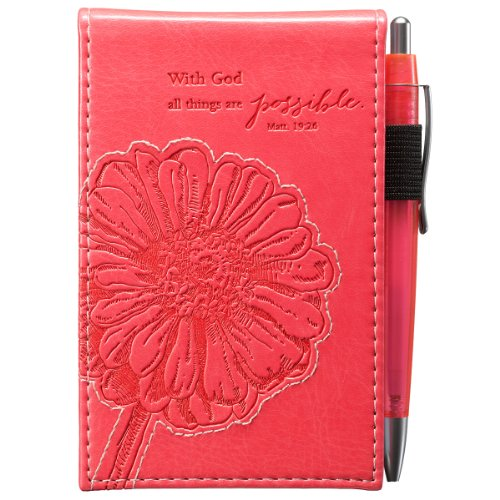 Pink Things Possible Pocket Notepad product image