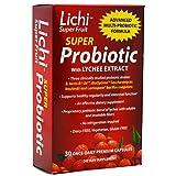 Lichi Super Fruit Lactospore Probiotic, 30 Count ( Multi-Pack)