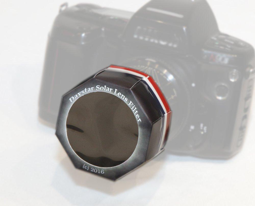 Solar Filter - Unversal Lens Filter 50mm - White Light for camera