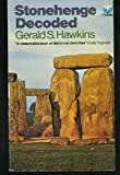 Stonehenge Decoded by Gerald S. Hawkins front cover
