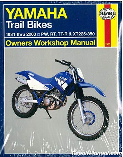 - NOS-H2350 Haynes Yamaha Trail Bikes 1981-2000 Repair Manual
