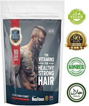 Hair Growth Vitamins - Grow Thicker Hair in 90 Days