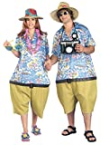 Forum Novelties Men's Couple's Fun Unisex Tropical Tourist Costume