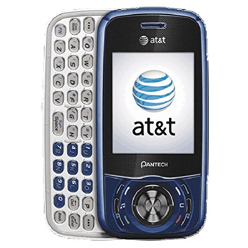 Pantech Matrix Blue AT&T Cell Phone Ready To Activate!
