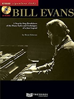The bill evans trio volume 2 1962 1965 artist transcriptions bill evans bkcd keyboard signature licks fandeluxe Gallery