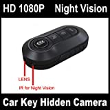 Full HD 1080P Car Key Remote Spy Camera DVR w/ Motion Detection Night Vision