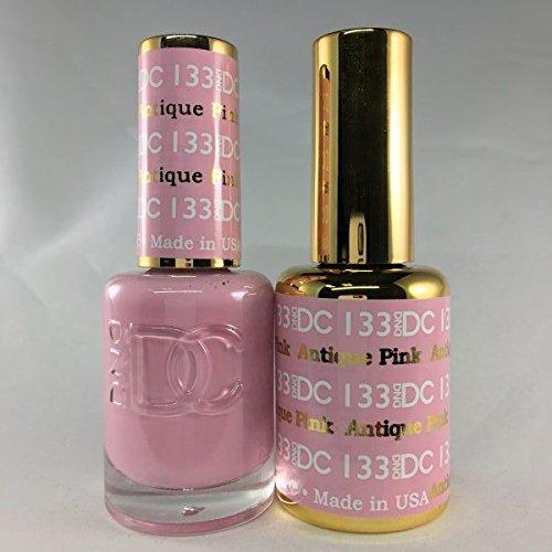DND DC Duo Gel + Polish - 133 Antique Pink