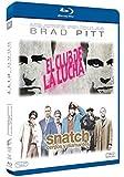 Pack Brad Pitt: El Club De La Lucha + Snatch: Cerdos Y Diamantes [Blu-ray]