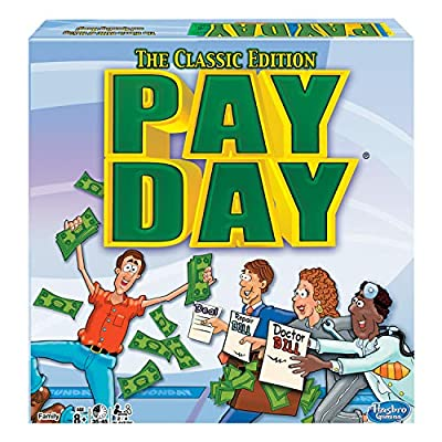 Winning Moves Games Pay Day, The Classic Edition, Multicolor: Game: Toys & Games