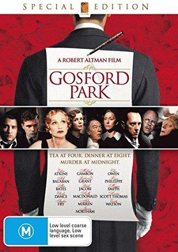 Gosford Park DVD