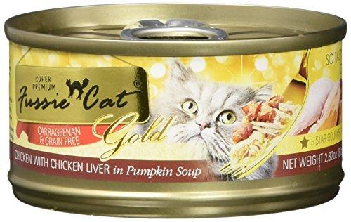 Fussie Cat Fcc020 Super Premium Chicken With Liver In Pumpkin Soup (24/1 Pack), 2.82 Oz/One Size