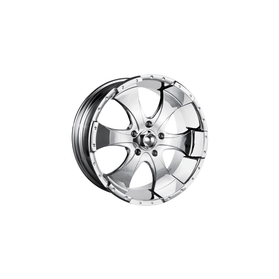 16x10 ION Alloy Style 136 (Chrome) Wheels/Rims 5x135 (136 6135C)
