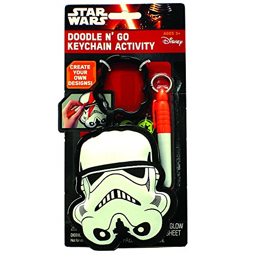 Price comparison product image Star Wars Doodle N' Go Keychain Activity Play Set