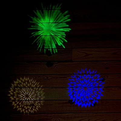 Disney Multi-Color LED Fireworks Lightshow Christmas Spotlight Projector