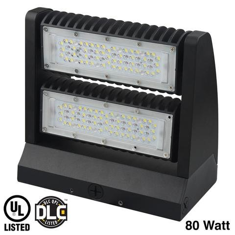 EZ40 Adjustable Tilt Head LED Wall Pack, 80W, 130 Lumens/W, 5 Year Warranty by LED Waves (Image #5)