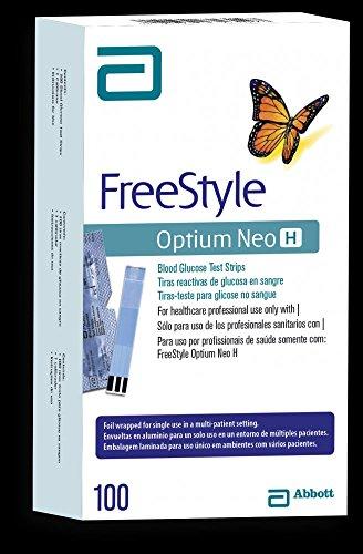 Freestyle Optium Neo H 100 Testing Strips (4)