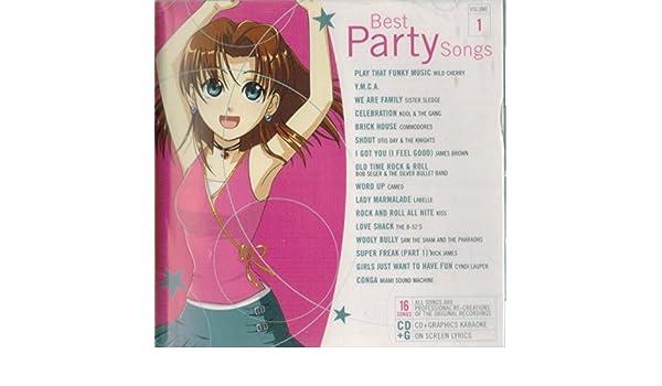 lucky star karaoke best party songs karaoke volume 1 amazon com