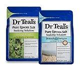 Dr Teal's Epsom Salt Soaking Solution, Pre & Post Workout,...