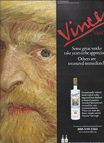 print-ad-for-vincent-van-gogh-vodka-2002-artist-portrait-scene-print-ad