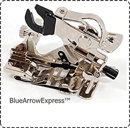 Amazon BlueArrowExpress Universal Snap On Ruffler Foot For Mesmerizing Huskystar 215 Sewing Machine Reviews