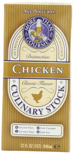 More Than Gourmet Chicken Culinary Stock, 32-Ounce Units (Pack of 6)