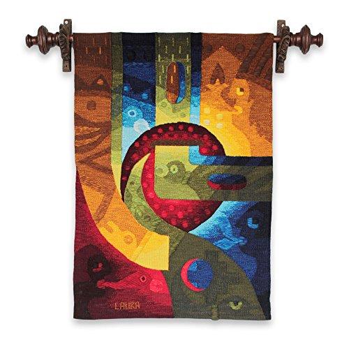 NOVICA 233904 Man Dreams' Alpaca Blend Tapestry (Tapestry Alpaca Blend)