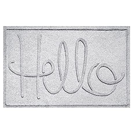 Aqua Shield Hello Doormat, 2u0027 X 3u0027, ...