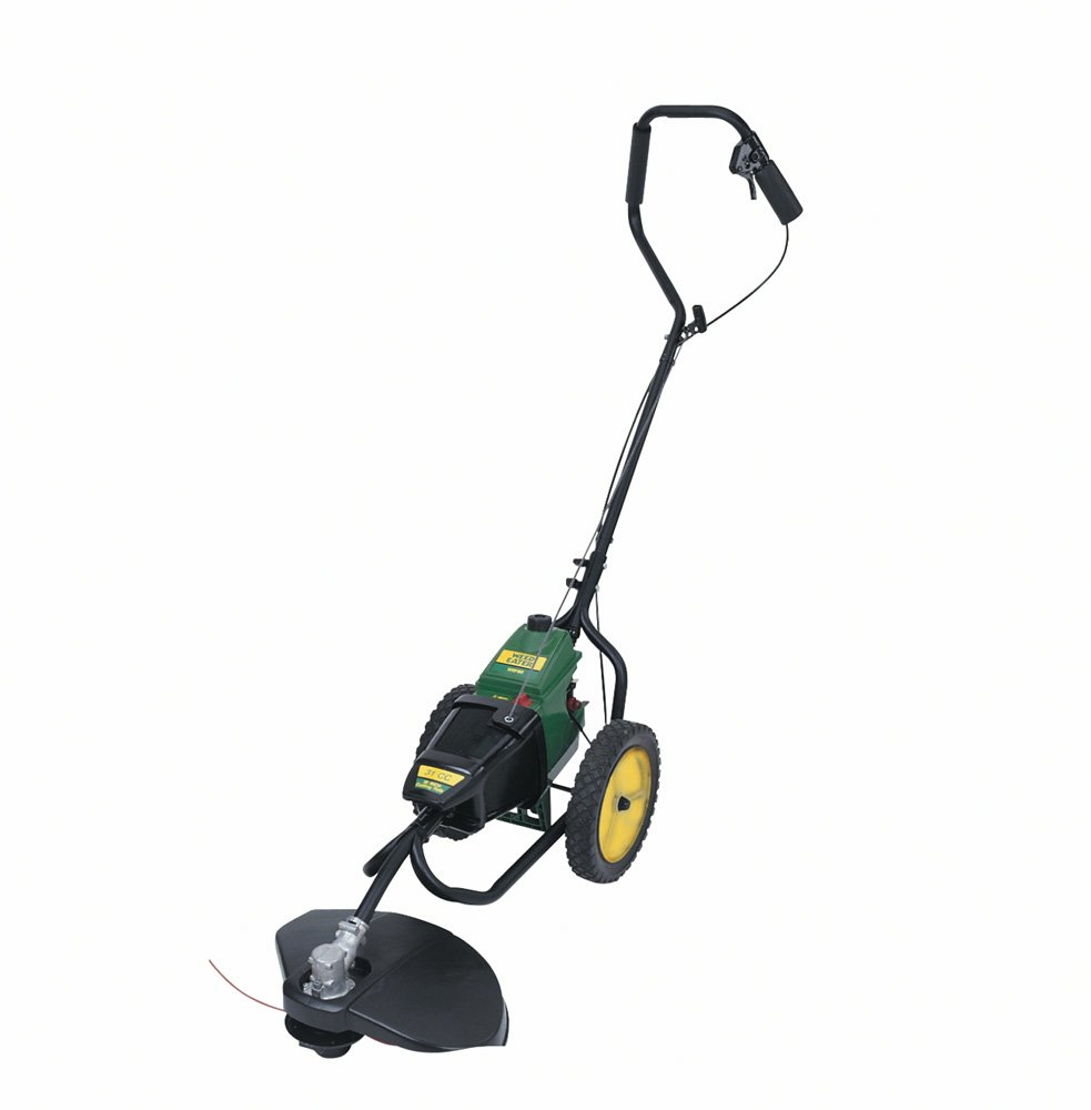 gas weed trimmer. amazon.com : weed eater wt3100 16-inch 31cc 2-cycle gas powered dual-cut wheeled string trimmer garden \u0026 outdoor