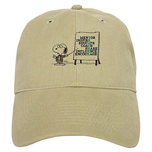 CafePress - Snoopy - Teacher Notes - Baseball Cap Adjustable Closure, Unique Printed Baseball Hat ()