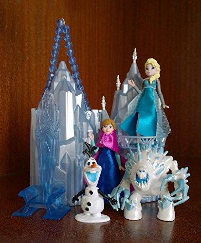 Buy Princess Castle Ice Palace Play Set Doll House Anna Elsa Olaf