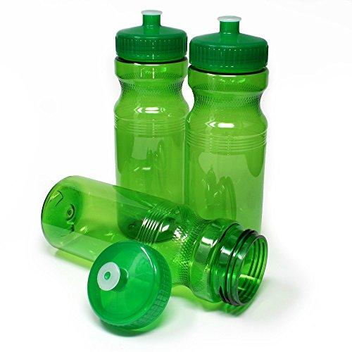 Rolling Sands 24oz Drink Bottles Go Green (Set of 3)
