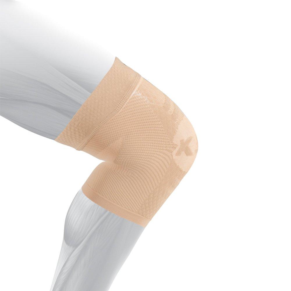 os1st ks7膝ブレース( 1つスリーブの膝蓋骨安定、は、Injury回復とRelieves膝痛みからランナー膝ジャンパー膝、関節炎Pain & Patellar腱鞘炎 B076MQ4PVW ナチュラル XXX-Large