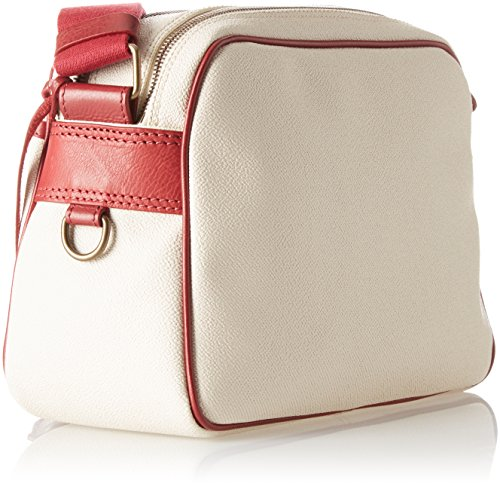 Timberland Damen Small Outdoor Bag Umhängetasche, 25x20x11 centimeters Elfenbein (Peach Puree)