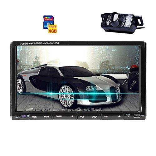 "EGood 7"" Universal In Dash HD Touch Screen Car DVD Player Do"